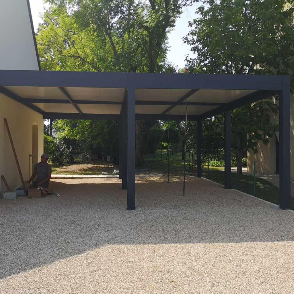 Carport & Abri De Terrasse - Idbois destiné Abri Pour Terrasse
