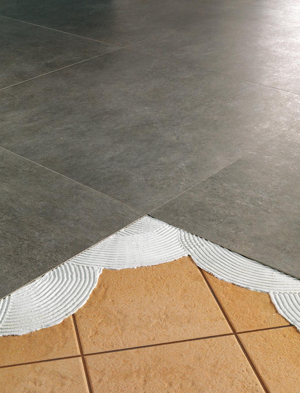 Carrelage Rénovation Mince 35 Et 55Mm En 10 Photos - Porto ... pour Carrelage Faible Epaisseur
