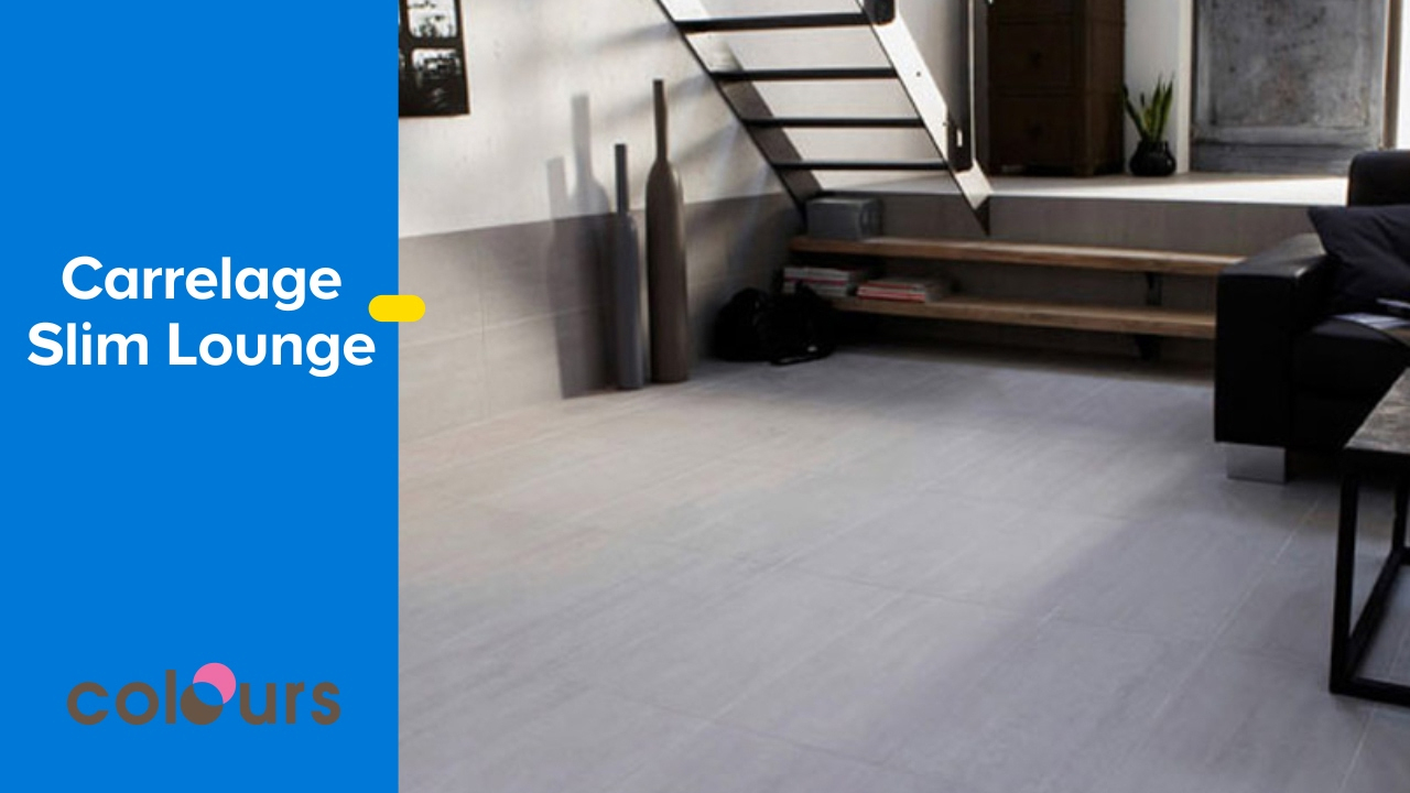 Carrelage Slim Lounge Colours - Castorama à Carrelage Faible Epaisseur