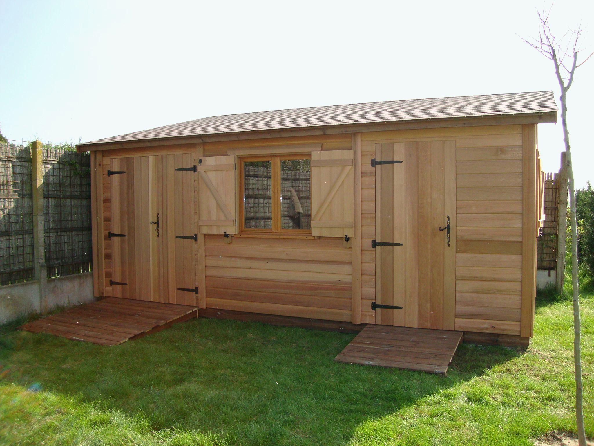 Castorama Abri Jardin | Indoor Garden, Outdoor Structures ... pour Abri De Jardin Bois 10M2