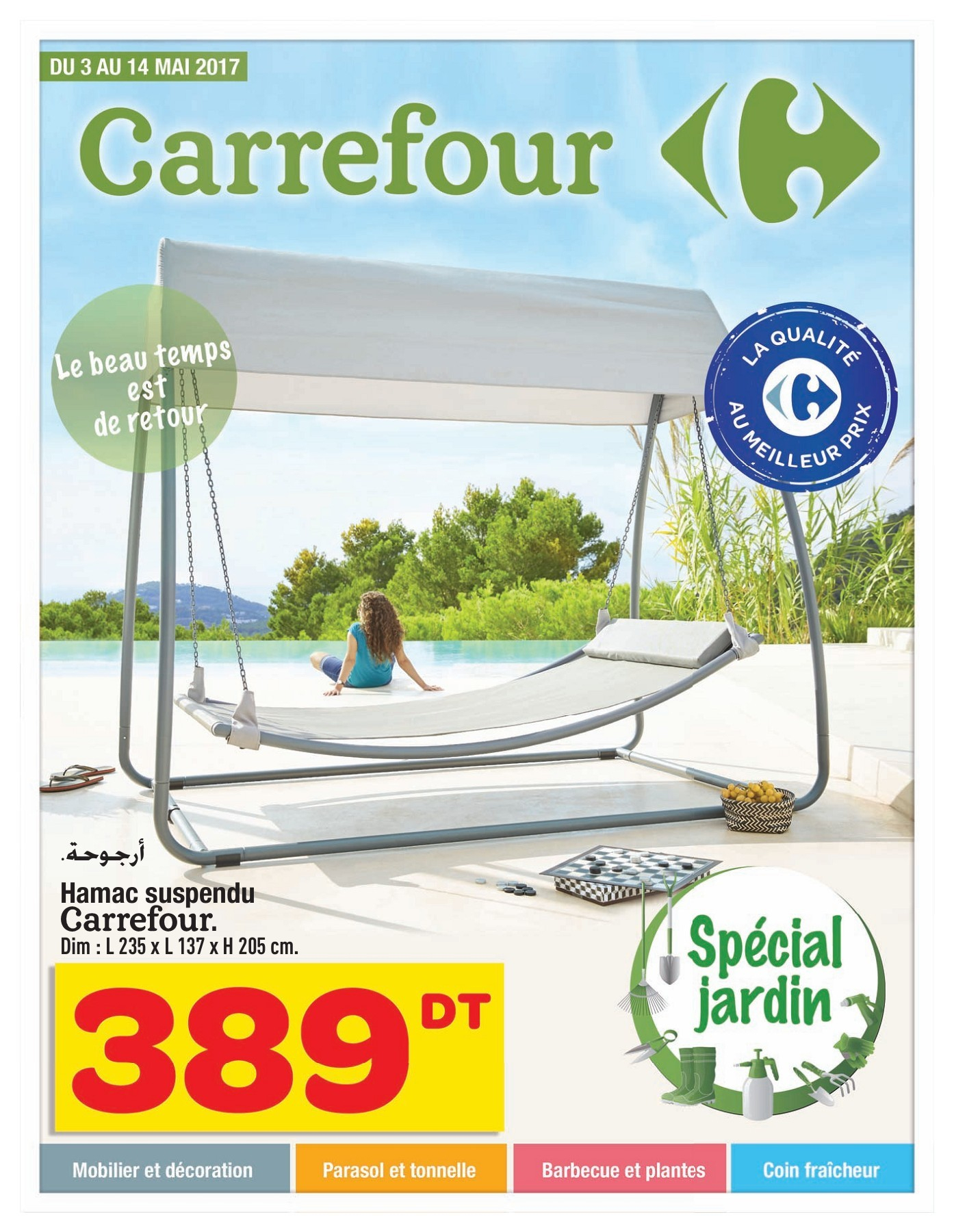 Catalogue Carrefour La Marsa Pages 1 - 24 - Text Version ... dedans Transat Jardin Carrefour