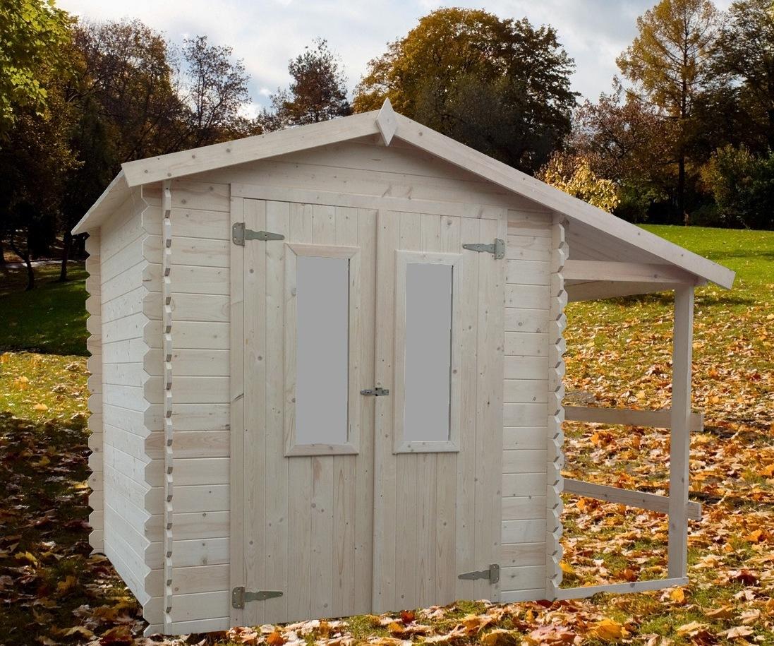 Chalet & Jardin:la Maison Du Jardin Abri De Jardin Avec ... destiné Abri De Jardin Avec Bucher