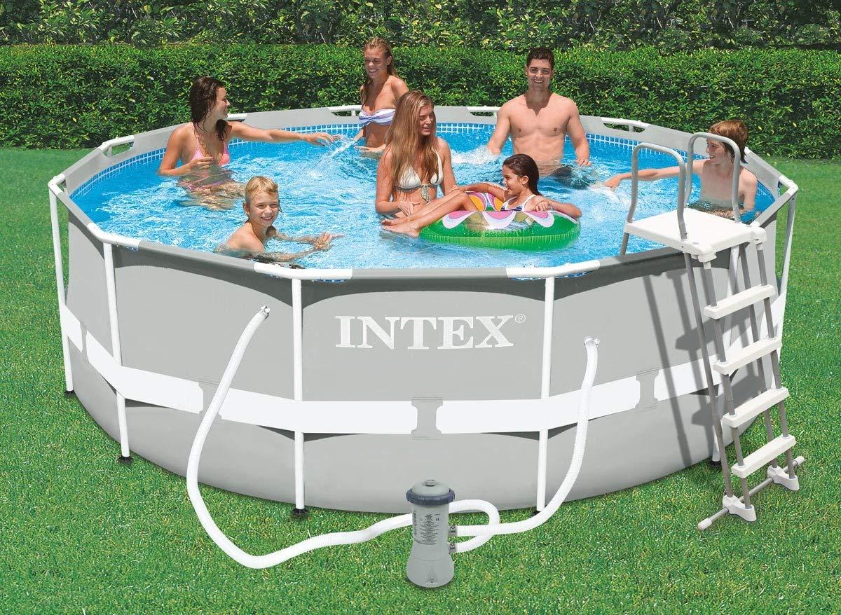 Choisir Une Piscine Tubulaire Intex - Guide D'achat Piscine ... intérieur Piscine Tubulaire Intex Pas Cher