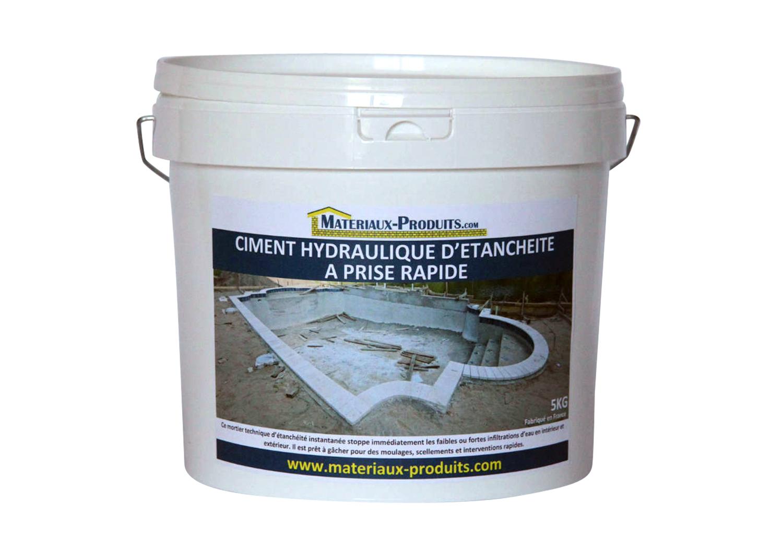 Ciment Hydraulique D'étancheité À Prise Rapide avec Produit D Etancheite