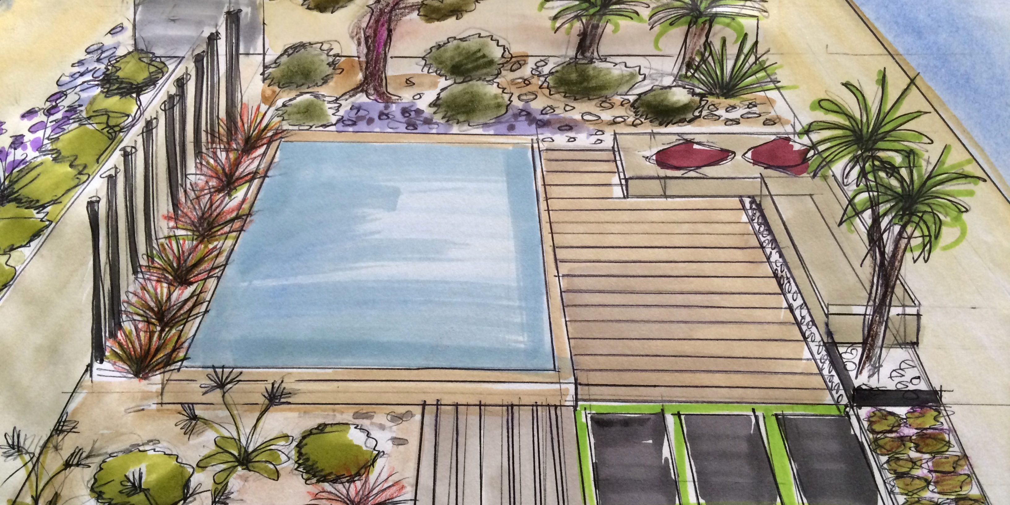 Comment Aménager Un Petit Jardin De Moins De 100 M² Avec Une ... concernant Amanager Un Petit Jardin