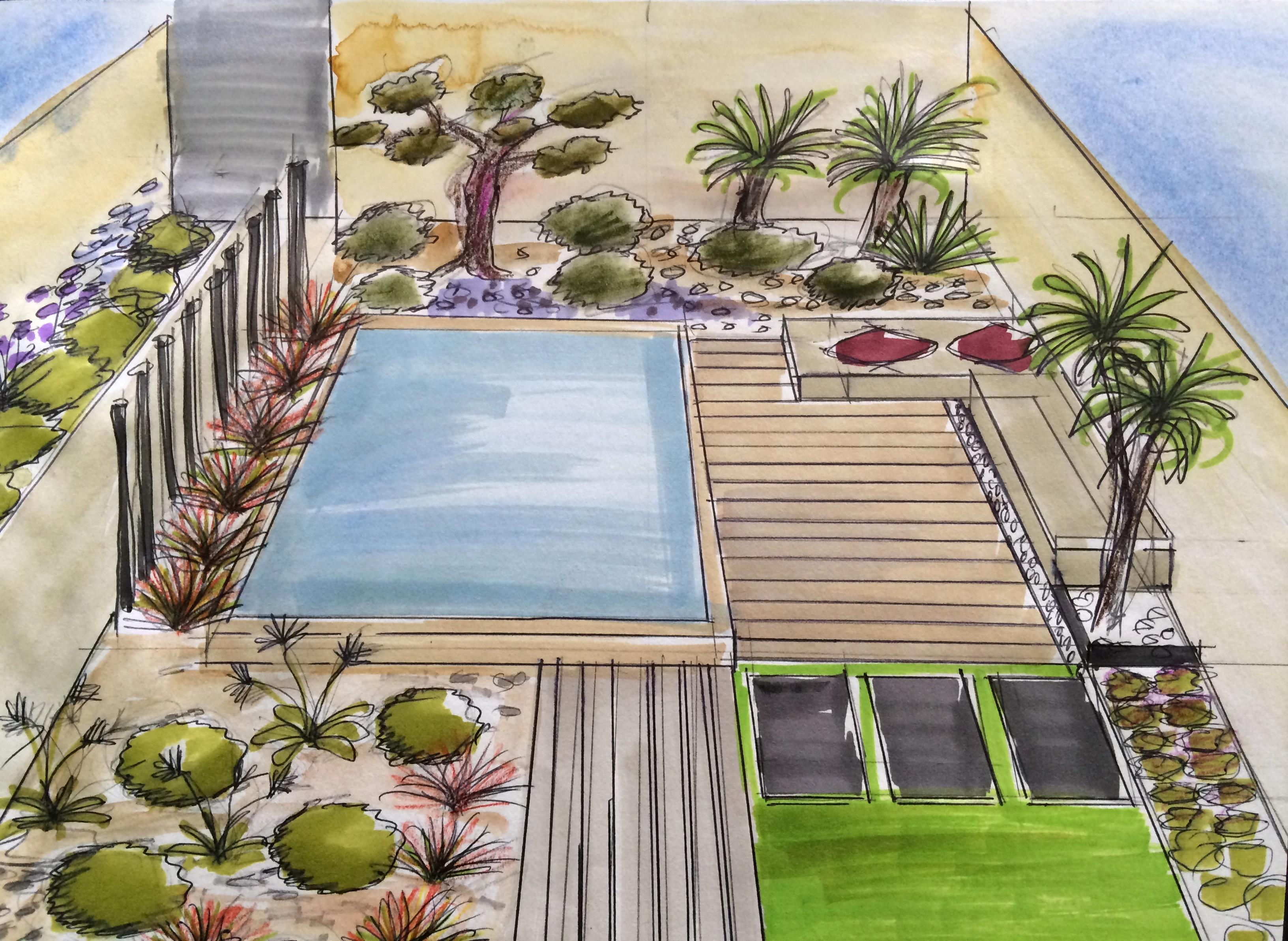 Comment Aménager Un Petit Jardin De Moins De 100 M² Avec Une ... encequiconcerne Petit Jardin Paysager