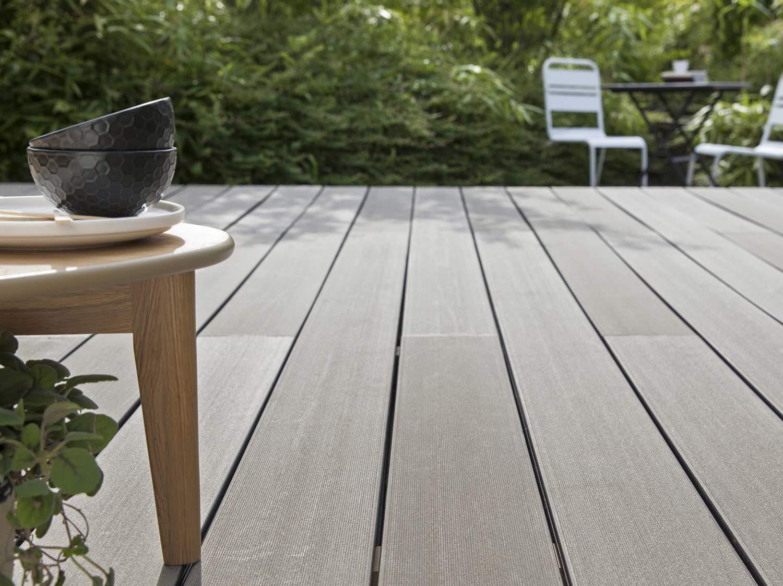 Comment Choisir Sa Terrasse En Bois Composite ?   Leroy Merlin concernant Terrasse Bois Composite