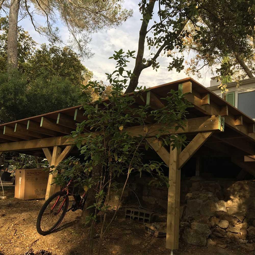Comment Construire Une Terrasse Suspendue ? - Terrasse Bois intérieur Terrasse Bois Pilotis