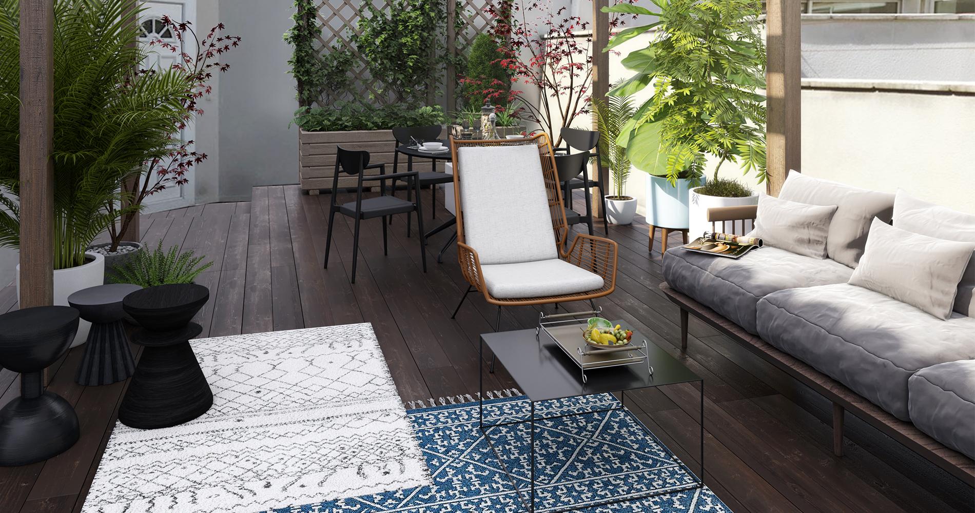 Comment Décorer Sa Terrasse ? - Madame Figaro intérieur Amenager Une Grande Terrasse