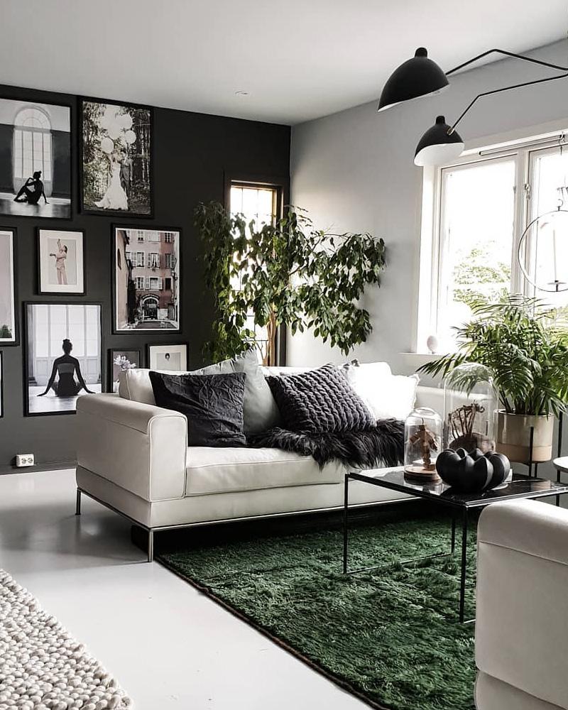 Comment Décorer Votre Salon Avec Le Gris Et Le Blanc ... tout Salon Gris Et Blanc