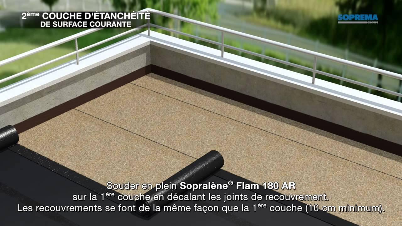 Comment Étancher Une Terrasse Avec Dalles Sur Plots Avec Isolant ? destiné Etancheite Toit Terrasse Goudron