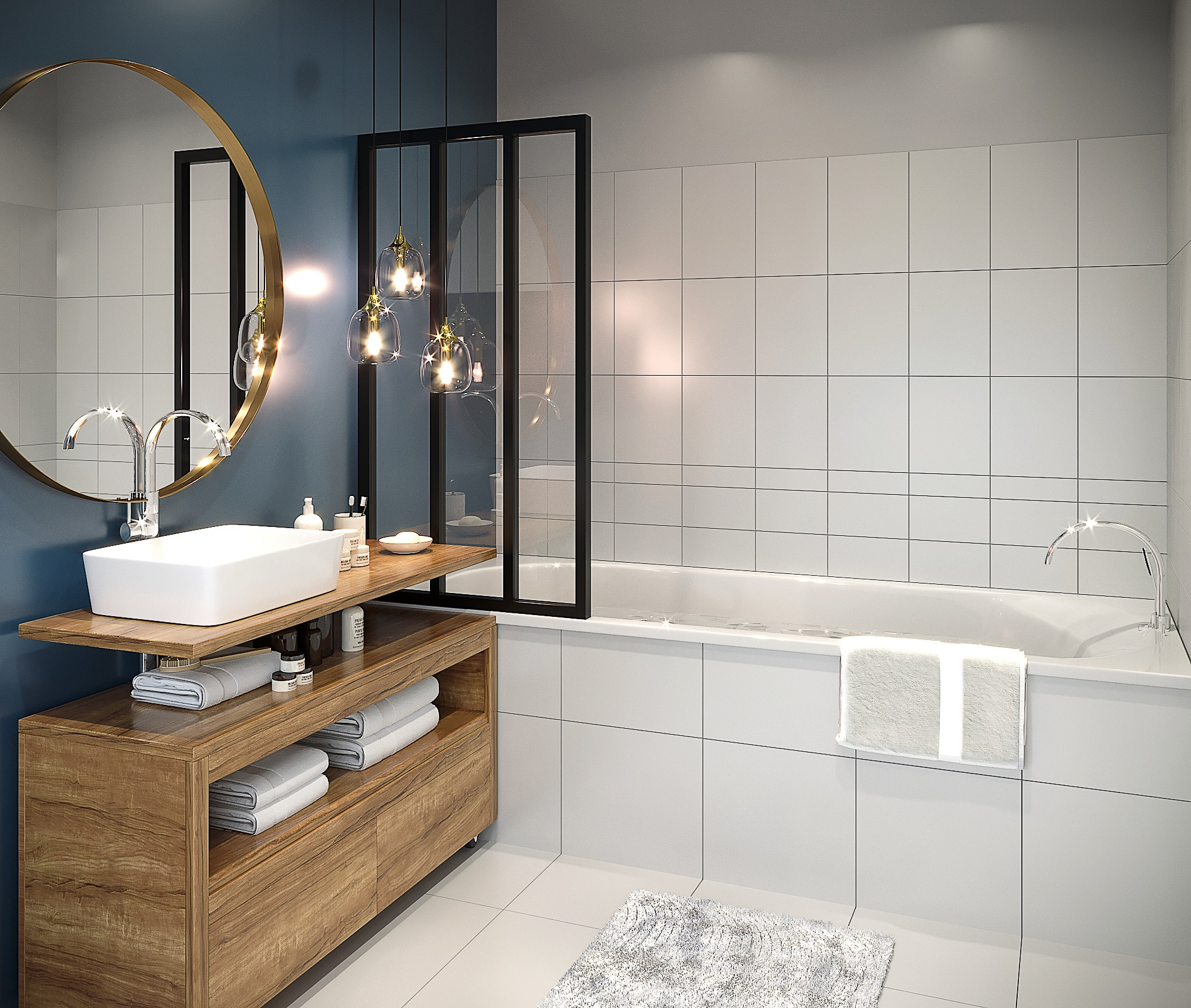 Comment Relooker Une Salle De Bains ? - Madame Figaro destiné Photo De Salle De Bain