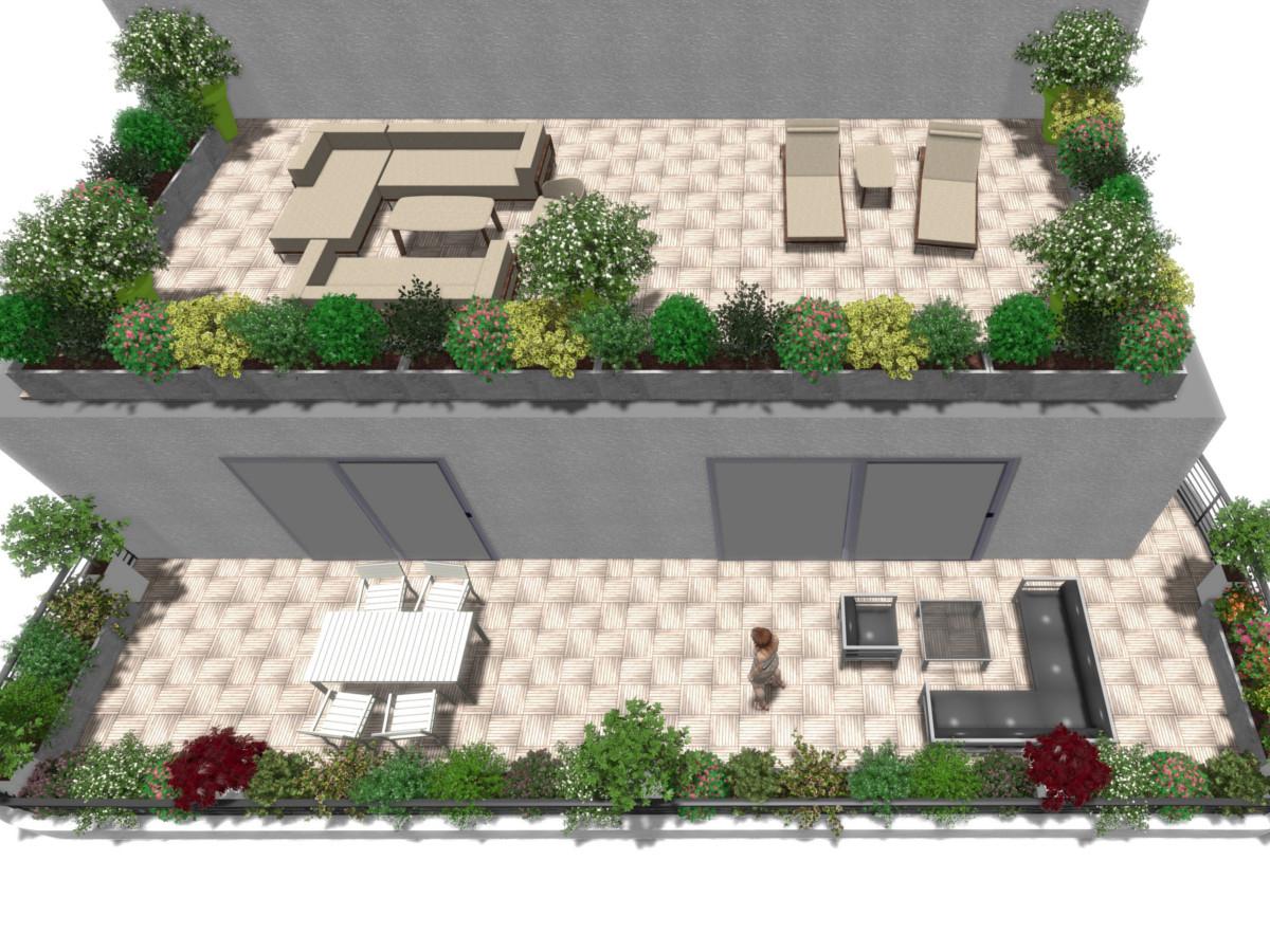 Conception D'une Terrasse À Echenevex – Balcons & Cie tout Amenagement De Terrasse
