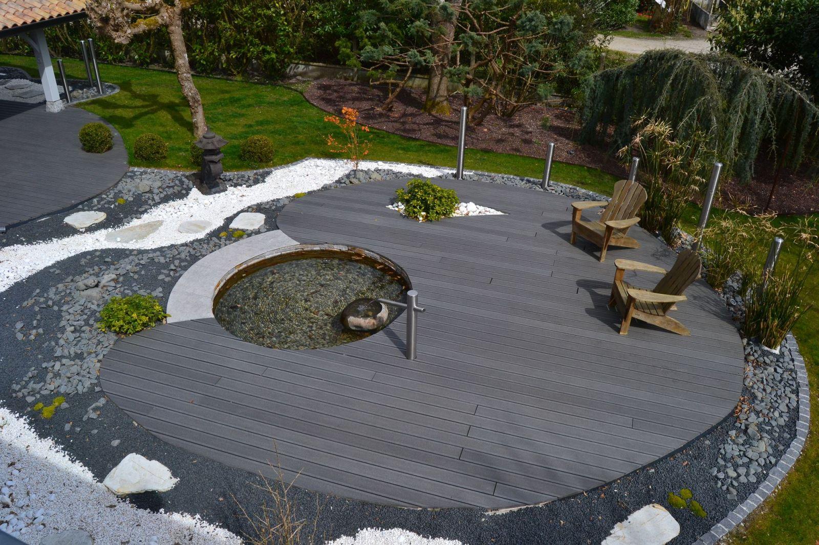 Conception Et Aménagement D'un Jardin Zen Par Un Paysagiste ... avec Decoration Jardin Zen Exterieur