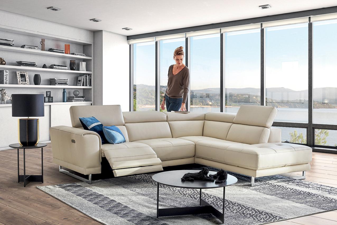 Confort, Design… Le Canapé Relax Électrise Votre Salon ... intérieur Canape Relax Design