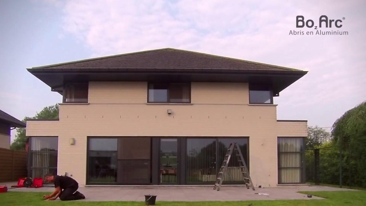 Construction D'Un Auvent De Terrasse - Bozarc tout Auvent Bois Terrasse
