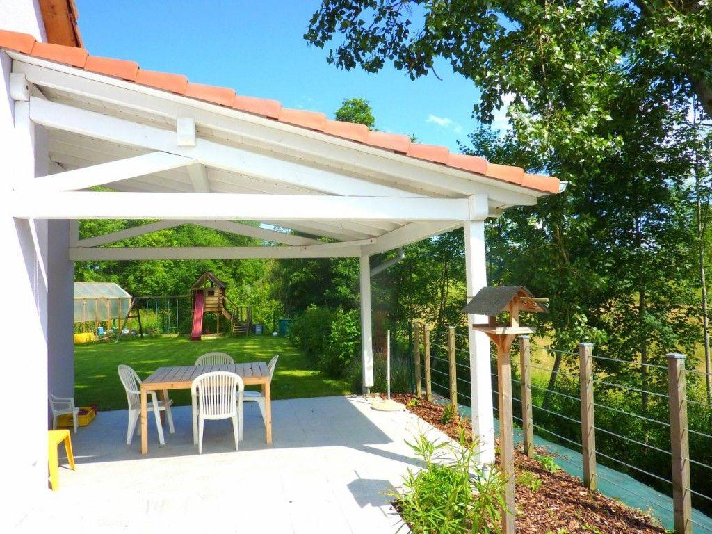 Construire Terrasse Couverte Maison   Terrasse Couverte destiné Abri De Terrasse Ferme