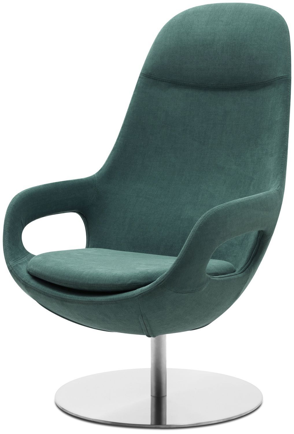 Contemporary Armchair / Fabric / Leather / Steel pour Bo Concept Fauteuil