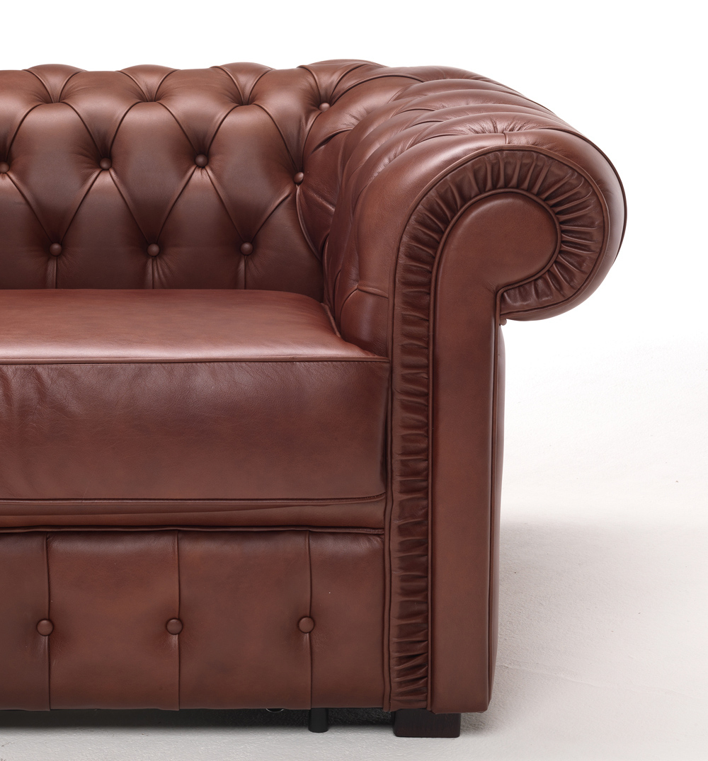 Convertible Contemporain : Chesterfield à Canape Chesterfield Convertible