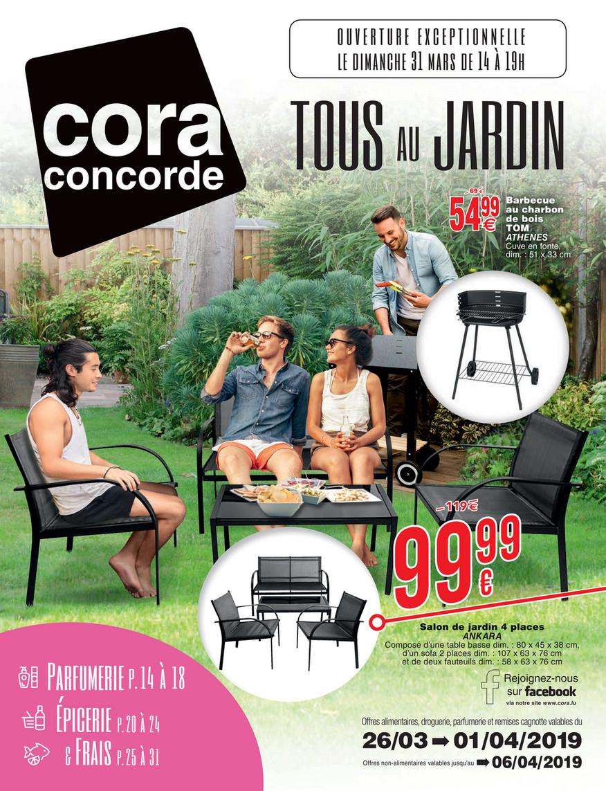 Cora Fr - 2603 Mobilier De Jardin À Cora Concorde - Page 2-3 pour Salon De Jardin Cora
