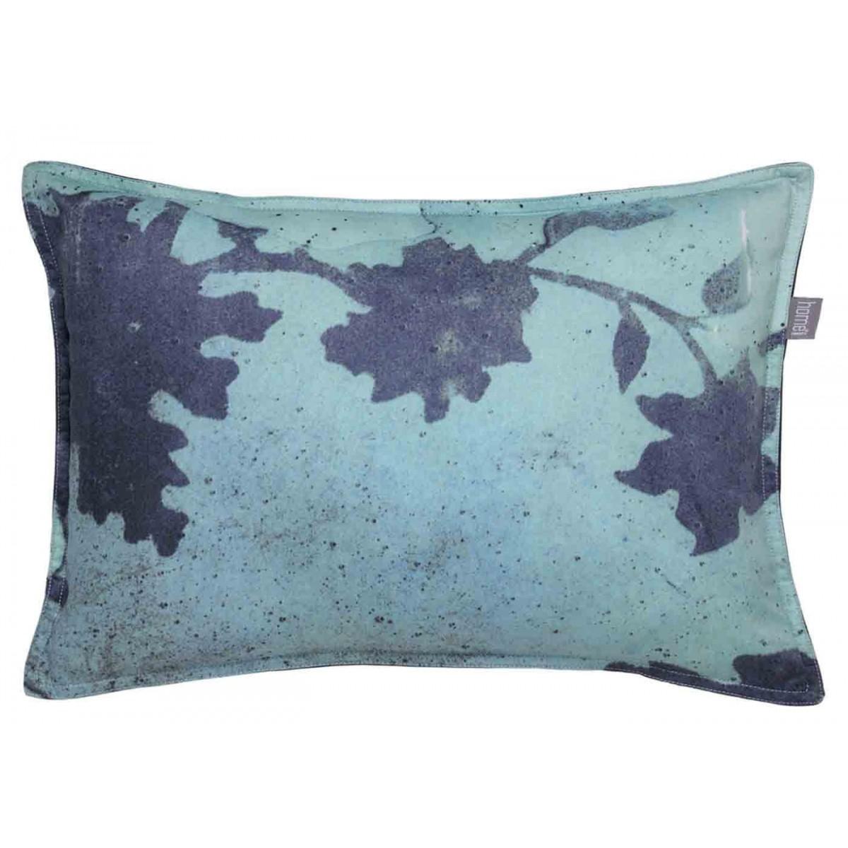 Coussin Déco Valdivian Batik Chic Par Home Concept serapportantà Coussin Bleu Vert