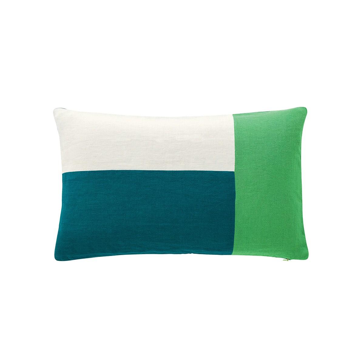 Coussin Maison Sarah Lavoine Bleu/vert Vert - Coussins Furniture à Coussin Bleu Vert