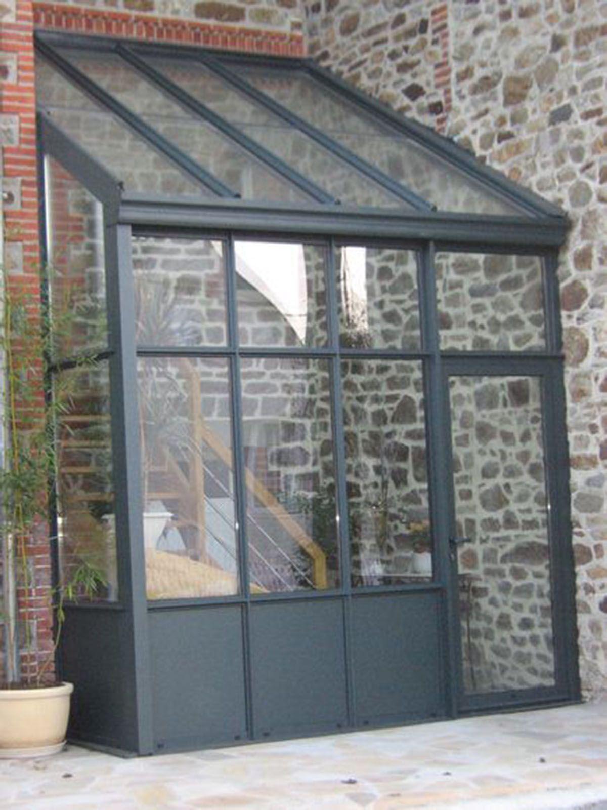 Couverture | Vérandaline | Porche Entrée Maison, Entrée ... à Verriere Jardin