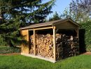 Créez Également Votre Abri Bûches Avec Maisonelle ! | Abri ... encequiconcerne Abri De Jardin Avec Bucher