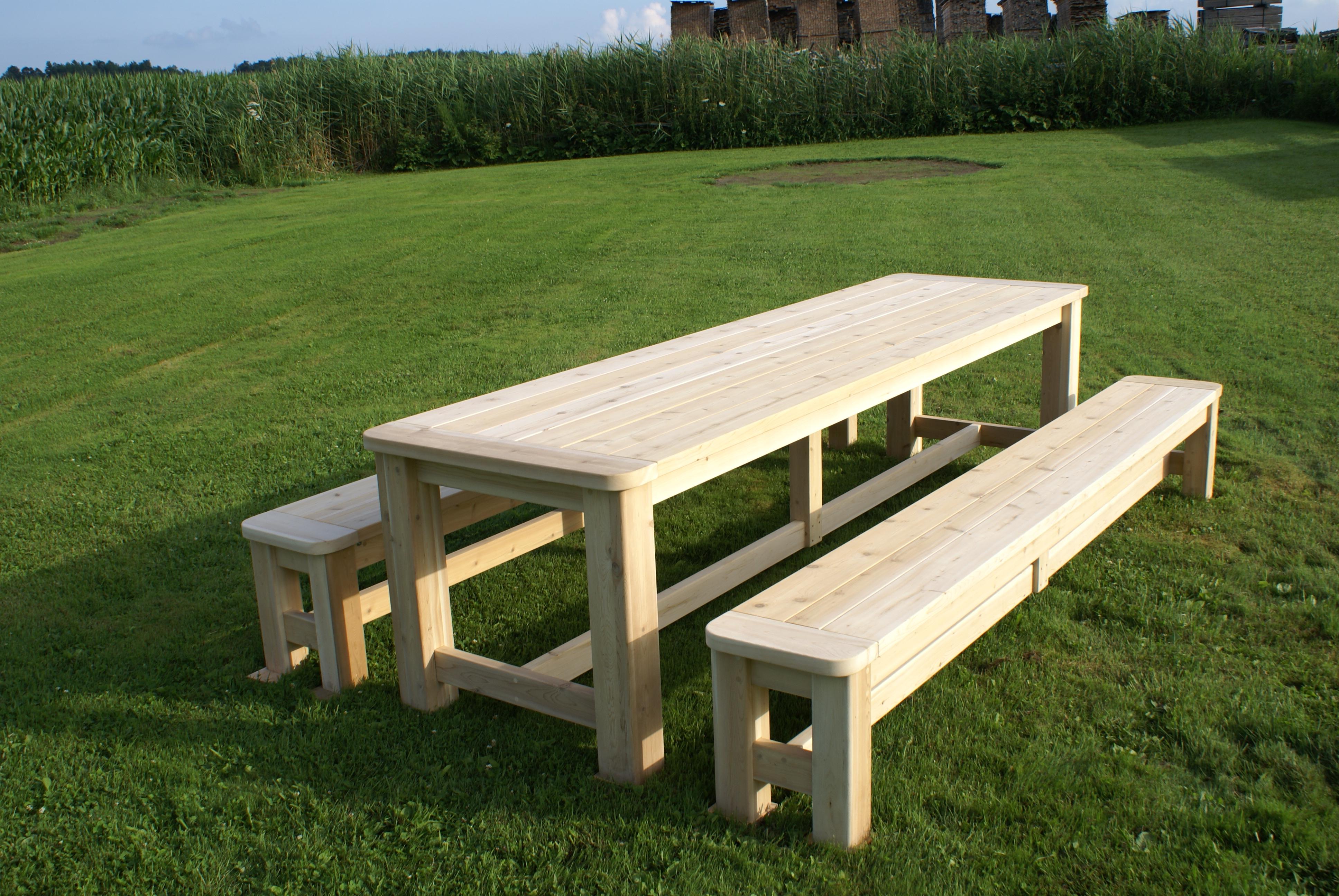 Dag Lefebvre encequiconcerne Table Jardin Bois