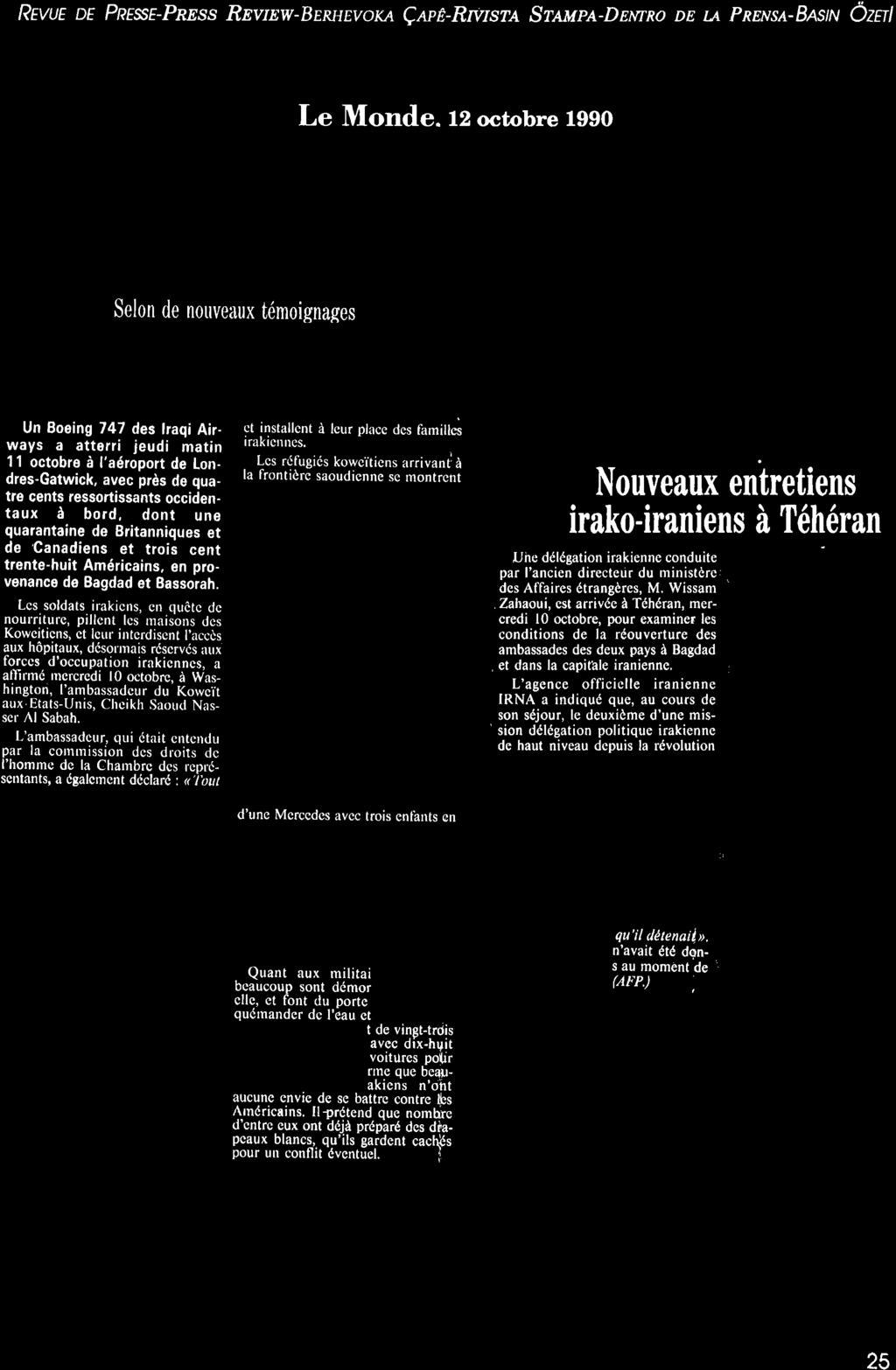 """De Paris N"""" Ocro Bre-Lr Ouelt Bre I 990. Bulletin De Liaison ... intérieur Amanagement Cour Extarieur"""