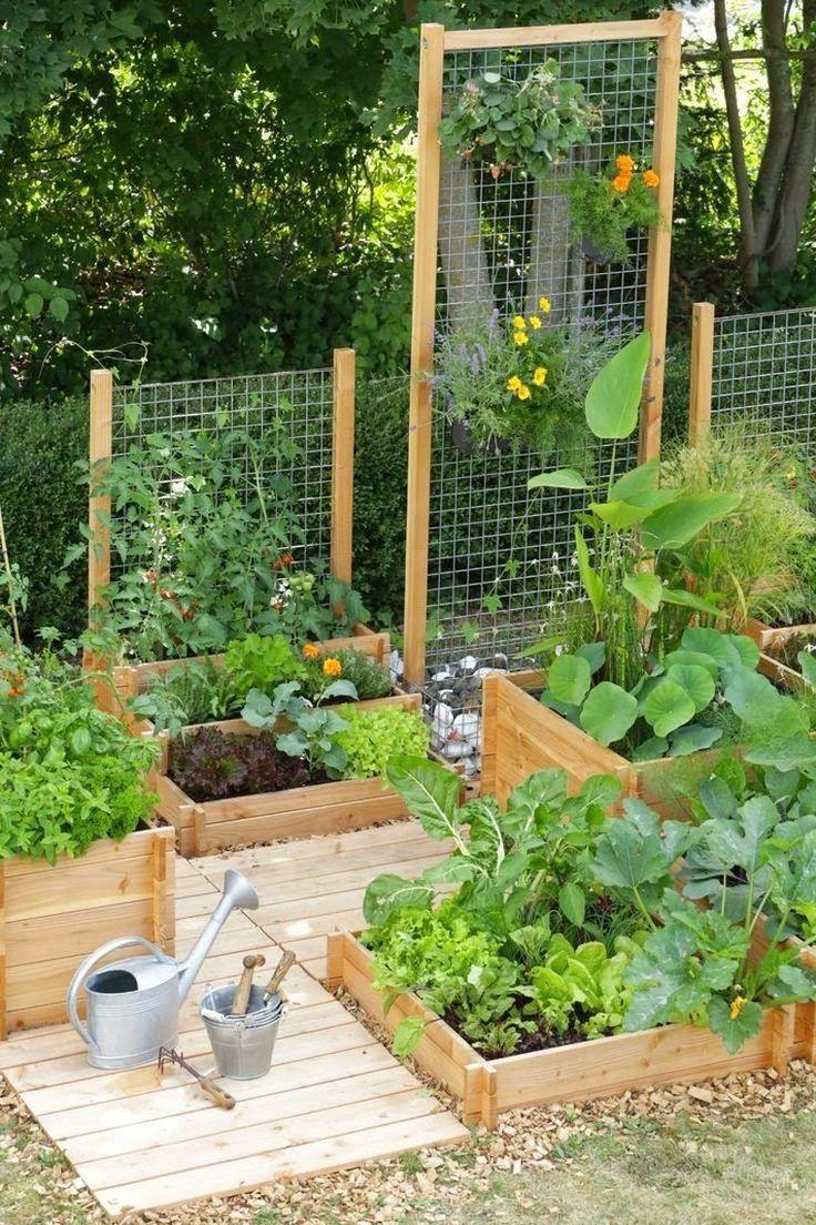 Déco Jardin Potager Pinterest Et Aménagement Extérieur Diy … intérieur Allae De Jardin