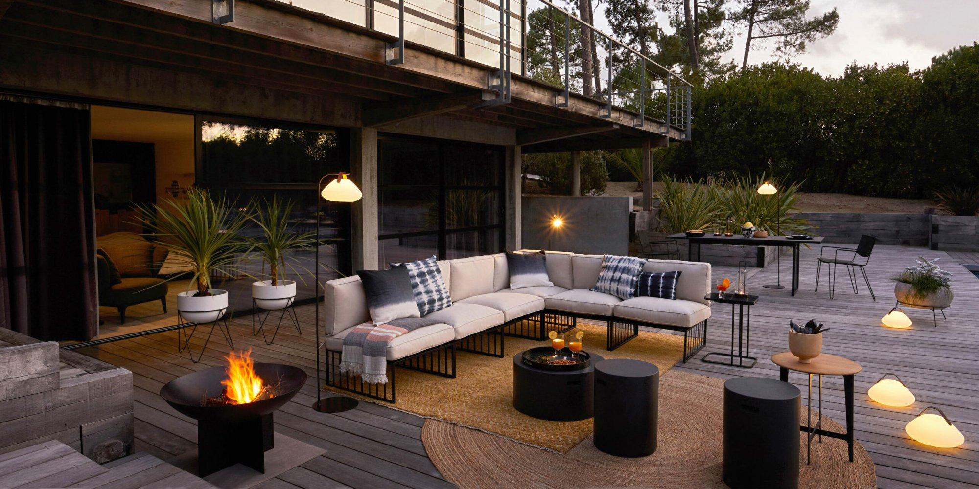 Déco Terrasse : 30 Idées Déco Pour Bien Aménager Sa Terrasse ... avec Amenager Une Grande Terrasse