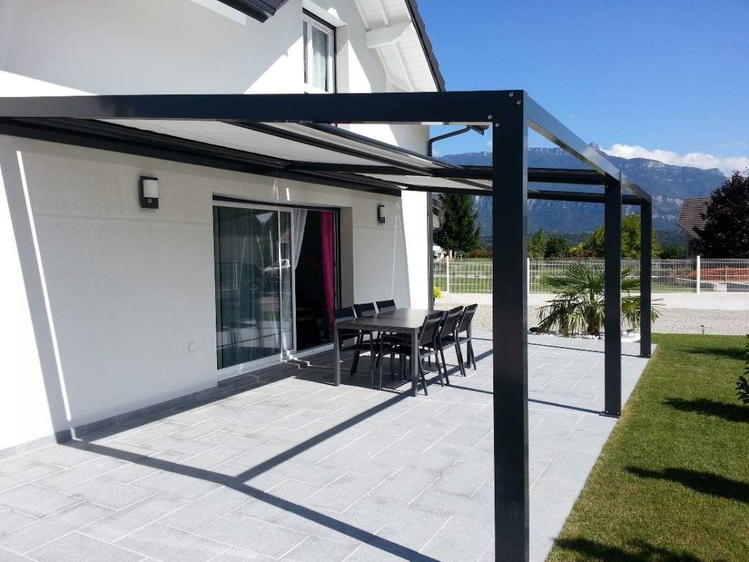 Délicieux Auvent Design Pour Terrasse #4 - Pergolas ... destiné Toit Terrasse Aluminium