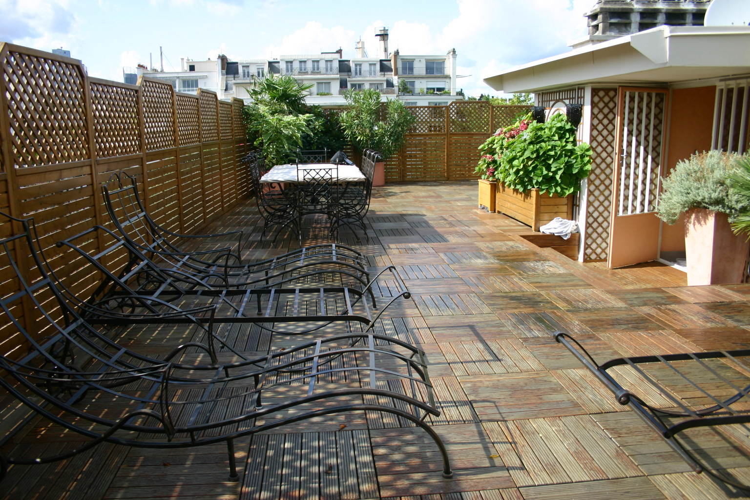 Des Pros Pour Aménager Votre Terrasse intérieur Amanagement De Terrasse