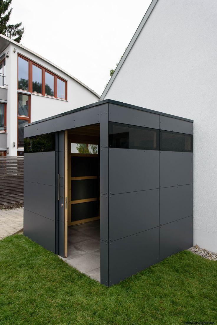 Designer Garden House @_Gart In München Von Design @ Garden ... dedans Abri De Jardin Contemporain