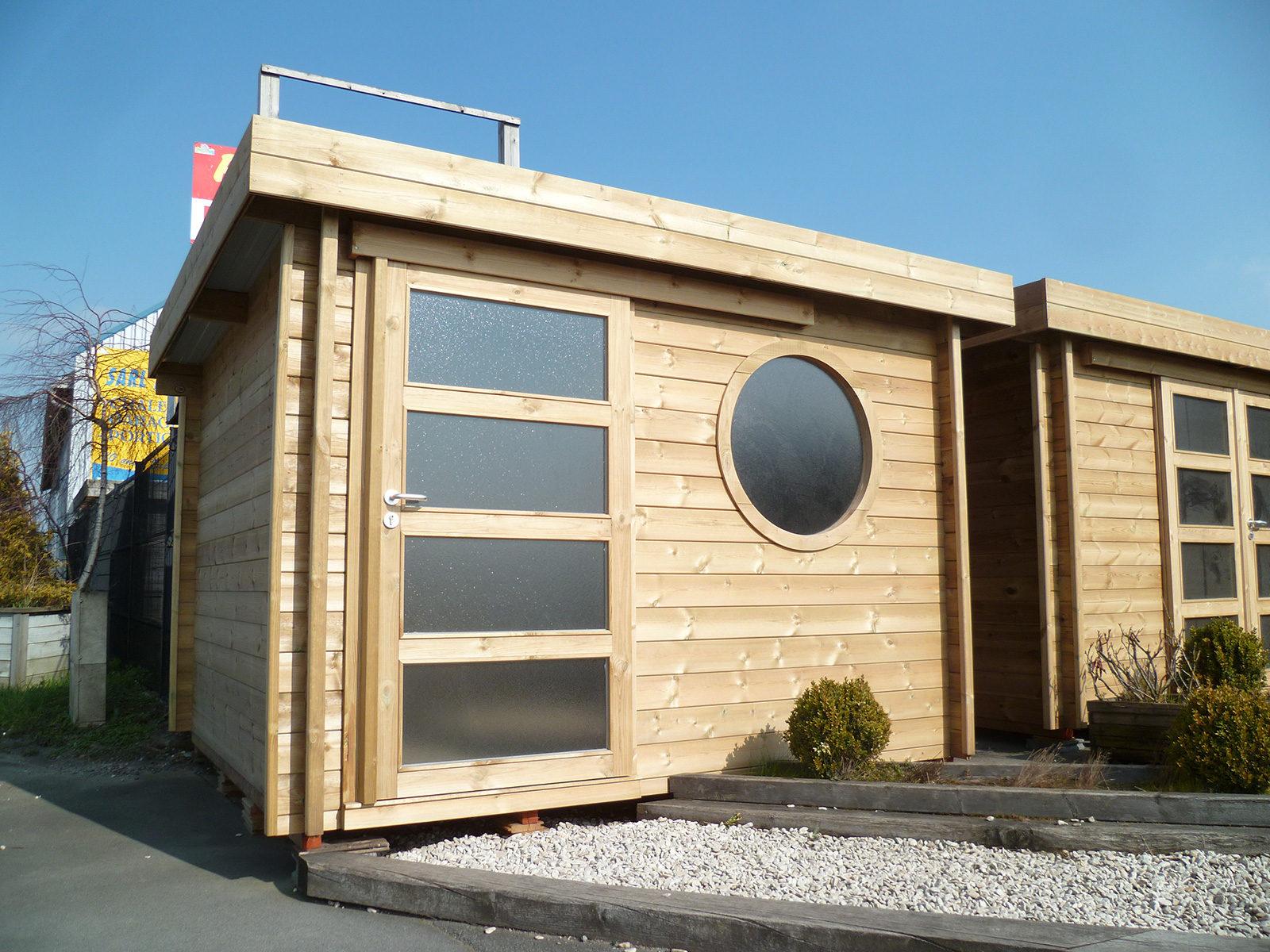 Destombes Bois | Abri De Jardin Bois - Garage - Carport ... intérieur Abri De Jardin Design