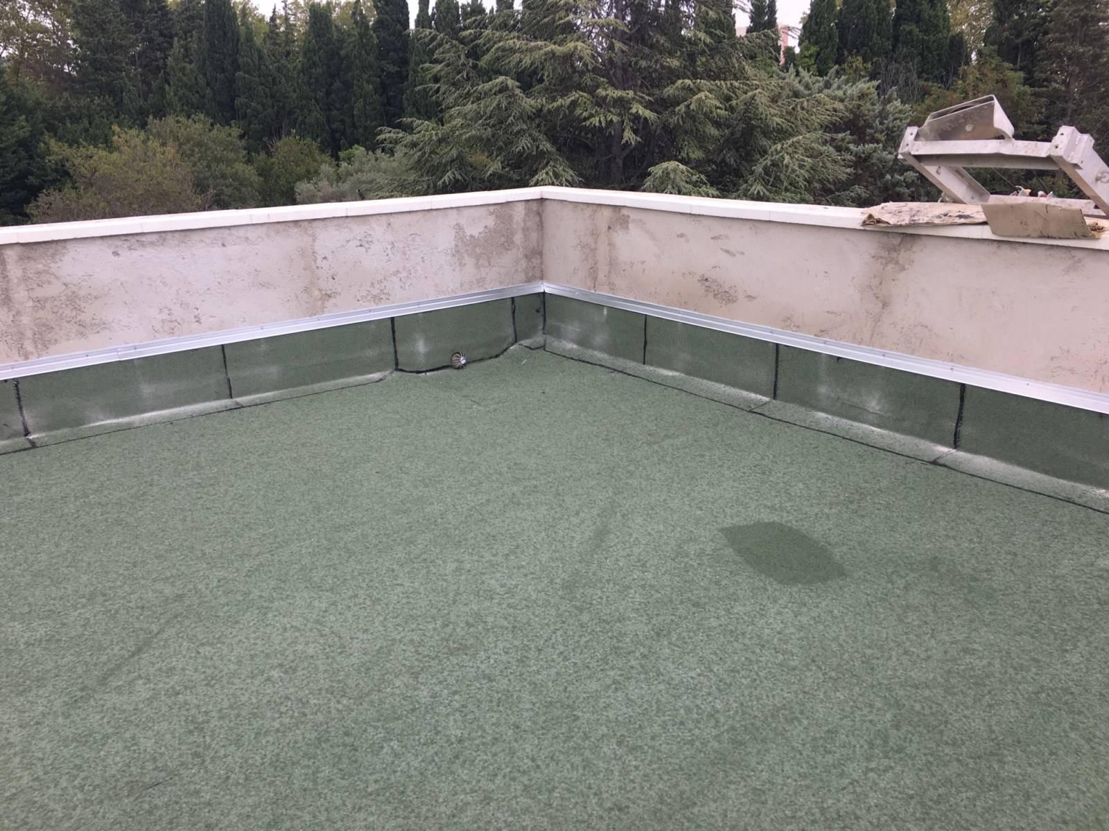 Devis Pour Rénovation, Isolation Et Réfection Étanchéité De ... à Acces Toit Terrasse