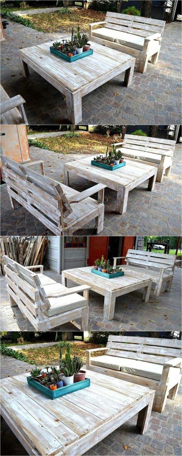 ▷ 1001 + Idées Pour Des Meubles De Jardin En Palettes + ... encequiconcerne Meubles De Jardin En Palettes