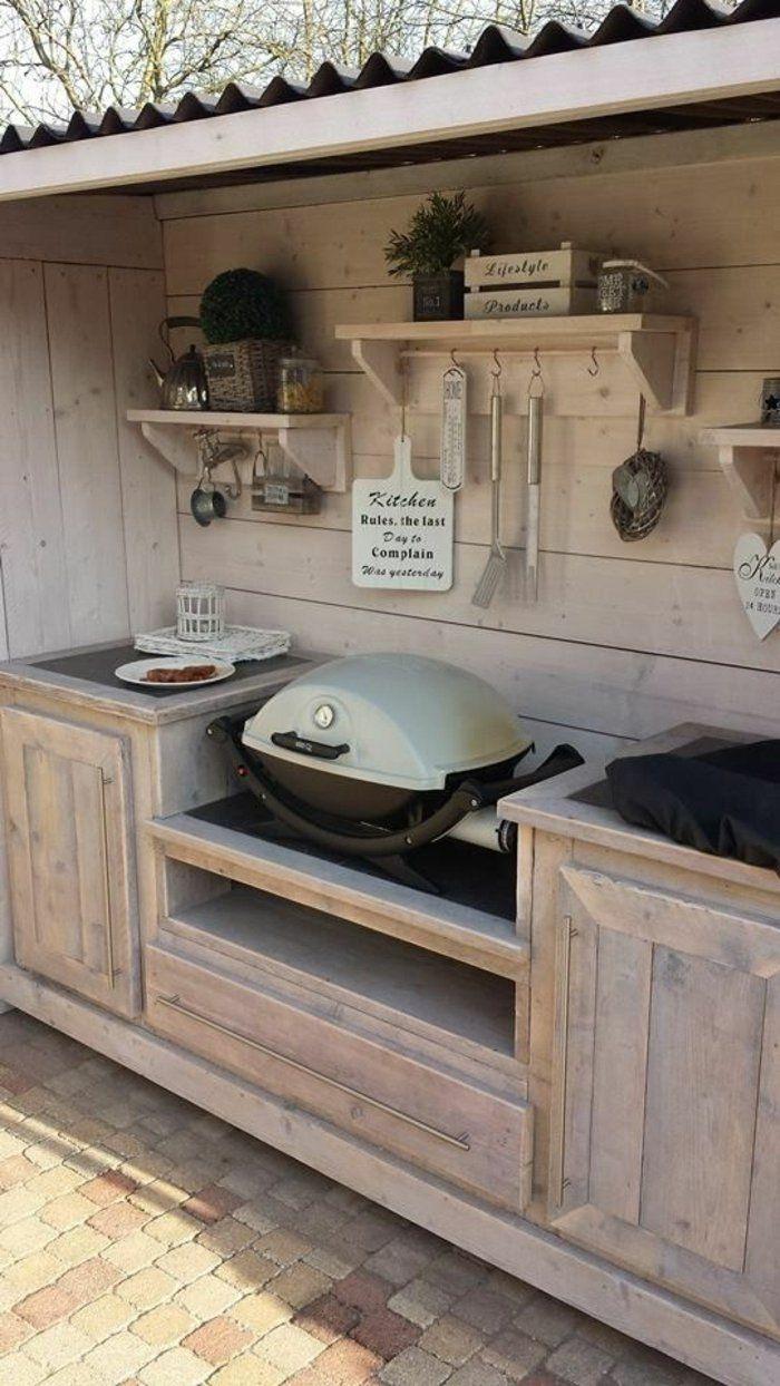▷ 1001+Idées D'aménagement D'une Cuisine D'été Extérieure ... pour Amanagement Extarieur Maison