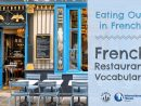Eating Out In French : French Restaurant Vocabulary - French ... avec Amanagement Cour Extarieur