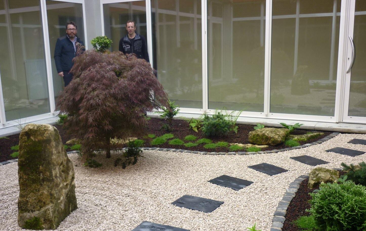 Edition Longwy | Villerupt : Un Jardin Zen Au Nouveau ... dedans Modele De Jardin Japonais