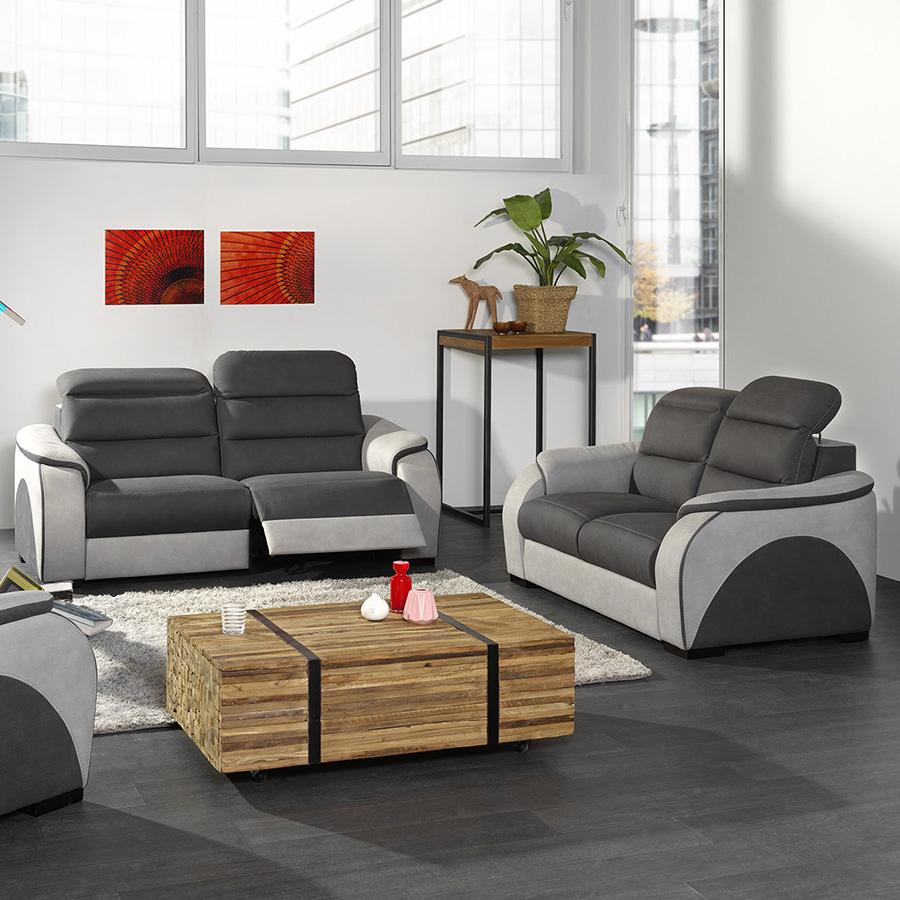 Ensemble Canapés 3+2 Places Duccio pour Canape Relax Design
