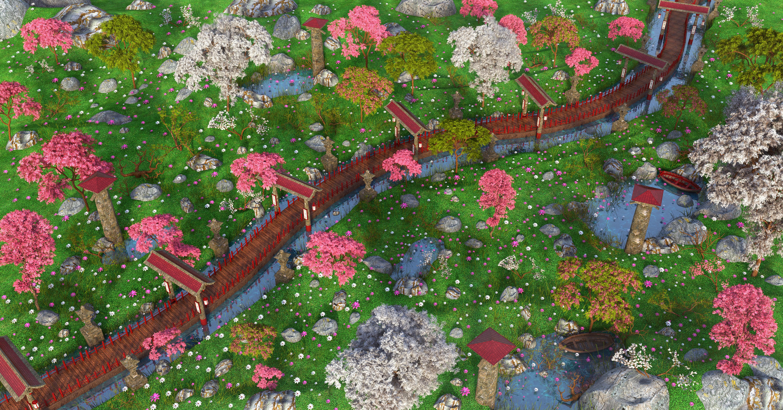 Environnement De Jardin Japonais concernant Modele De Jardin Japonais