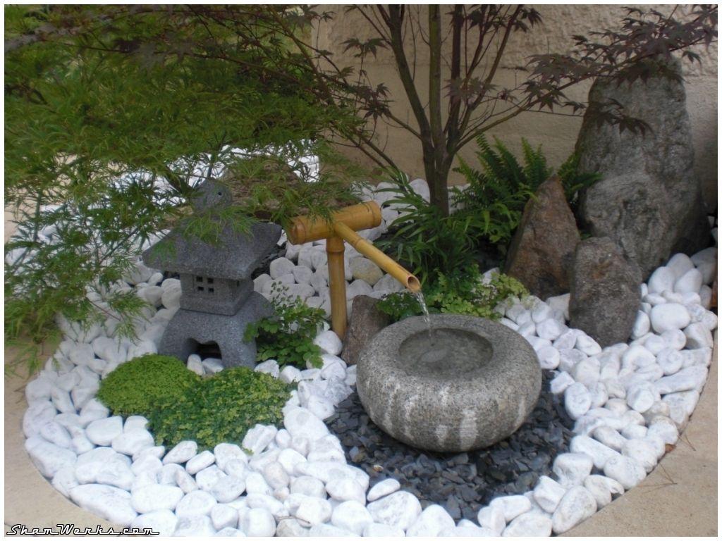 Épinglé Par Lou Sur Jardin | Petit Jardin Japonais, Jardin ... pour Decoration Jardin Zen Exterieur