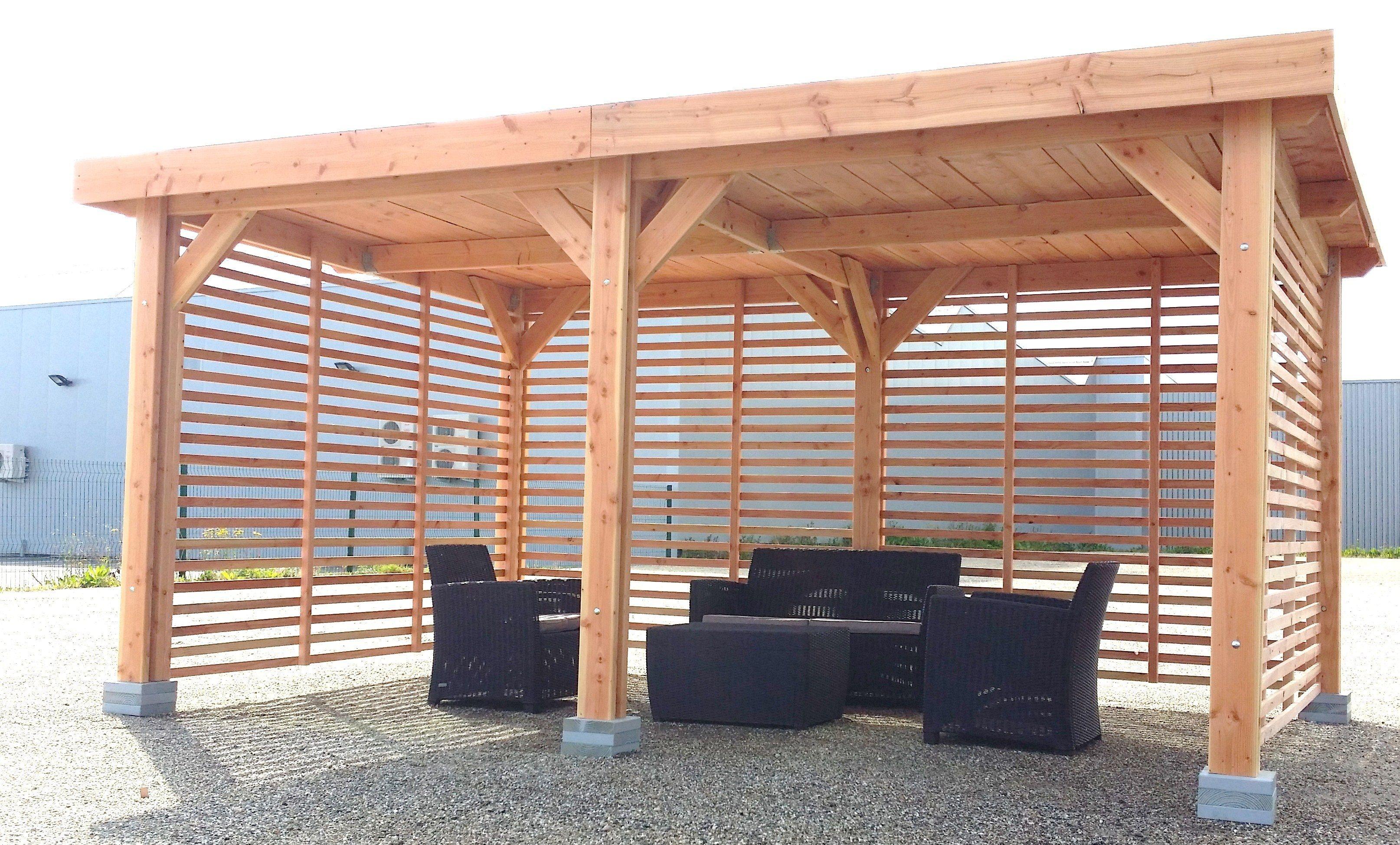 Épinglé Par Mondo Sur Bois En 2020 | Abri Terrasse avec Abri De Terrasse En Bois