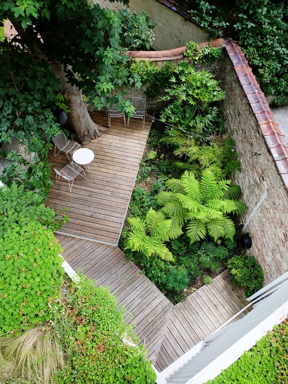 Épinglé Par Ulrike Strieck Sur Terassen En 2020 | Jardins ... dedans Petit Jardin Paysager