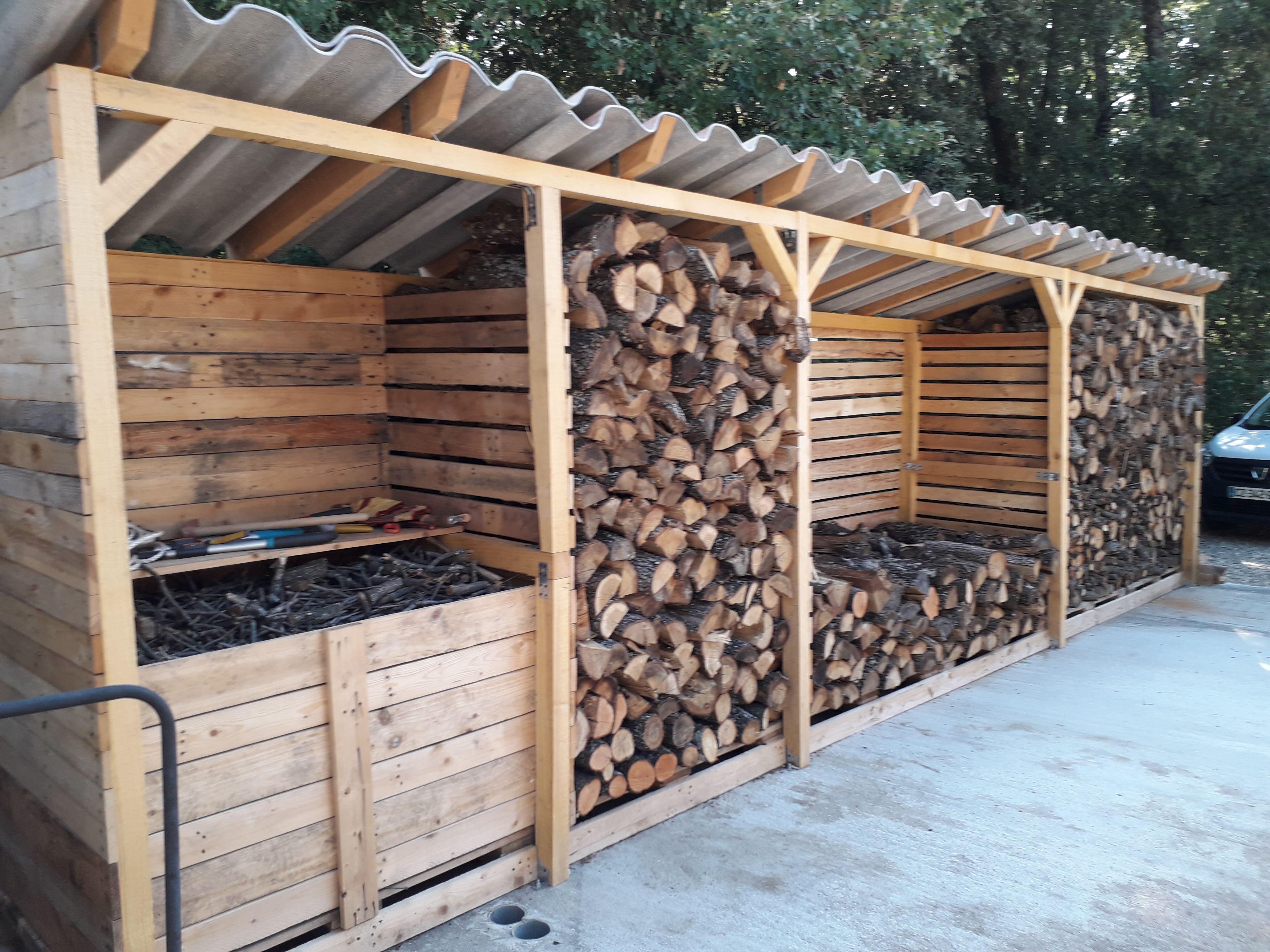 Épinglé Par Valbar Sur Abris Bois En 2020   Abri Bois ... intérieur Abri A Bois