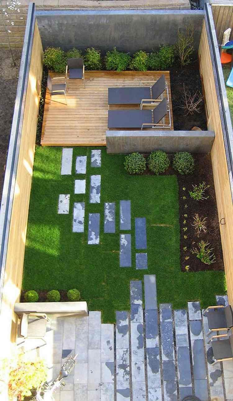 Épinglé Sur Balkon Veranda Bahce Fikirleri pour Amenager Jardin Rectangulaire