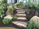 Escalier De Jardin - Aménagement D'escalier Extérieur ... destiné Amanagement Jardin En Pente