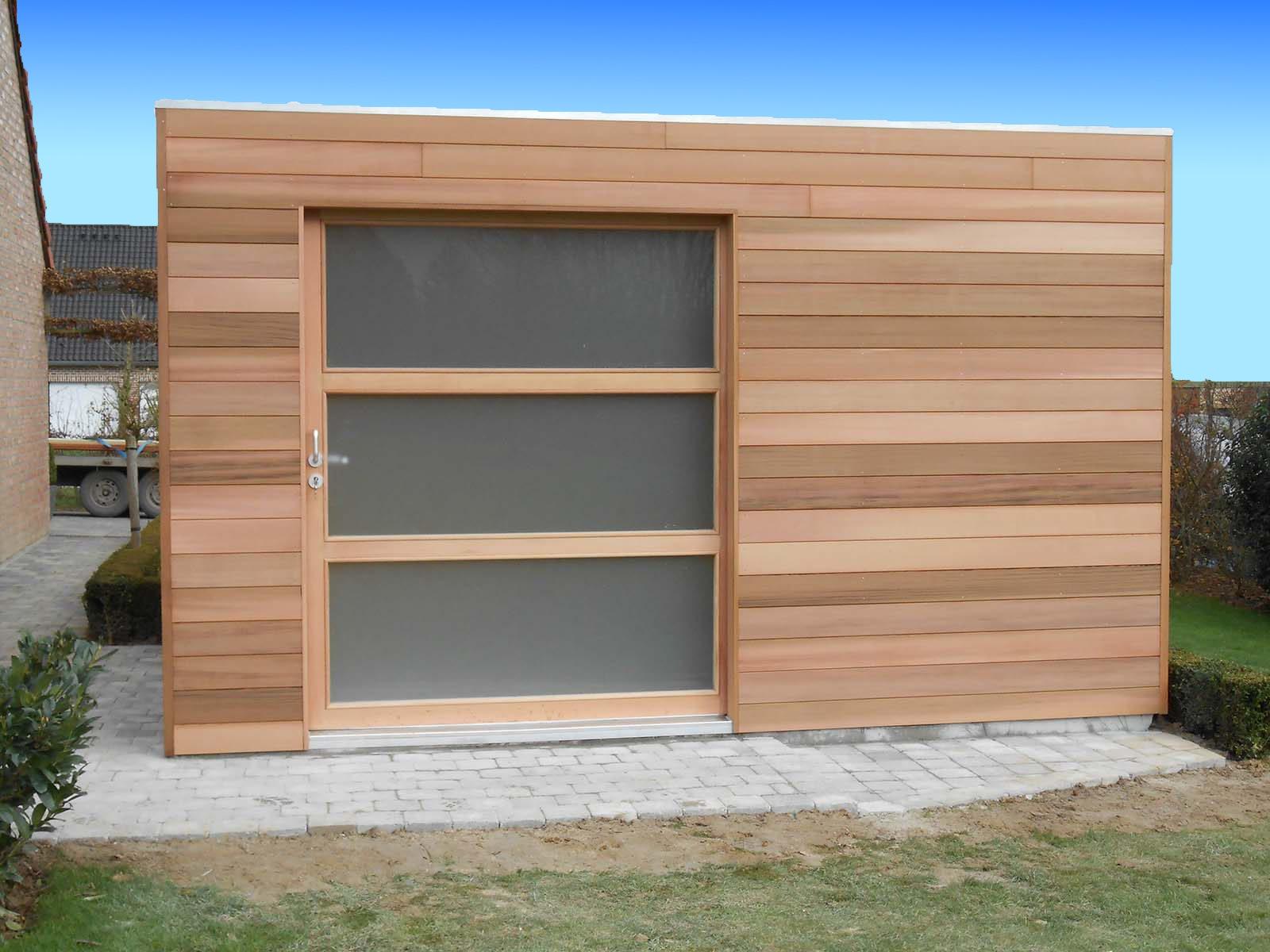 Fabricant Abri De Jardin Moderne Quadro - Abri Toit Plat ... destiné Abri Jardin Moderne